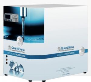 Trinkwasser Aufbereitung - QuantiSana Wassertankstelle mit BestWater Molekularfiltersystem