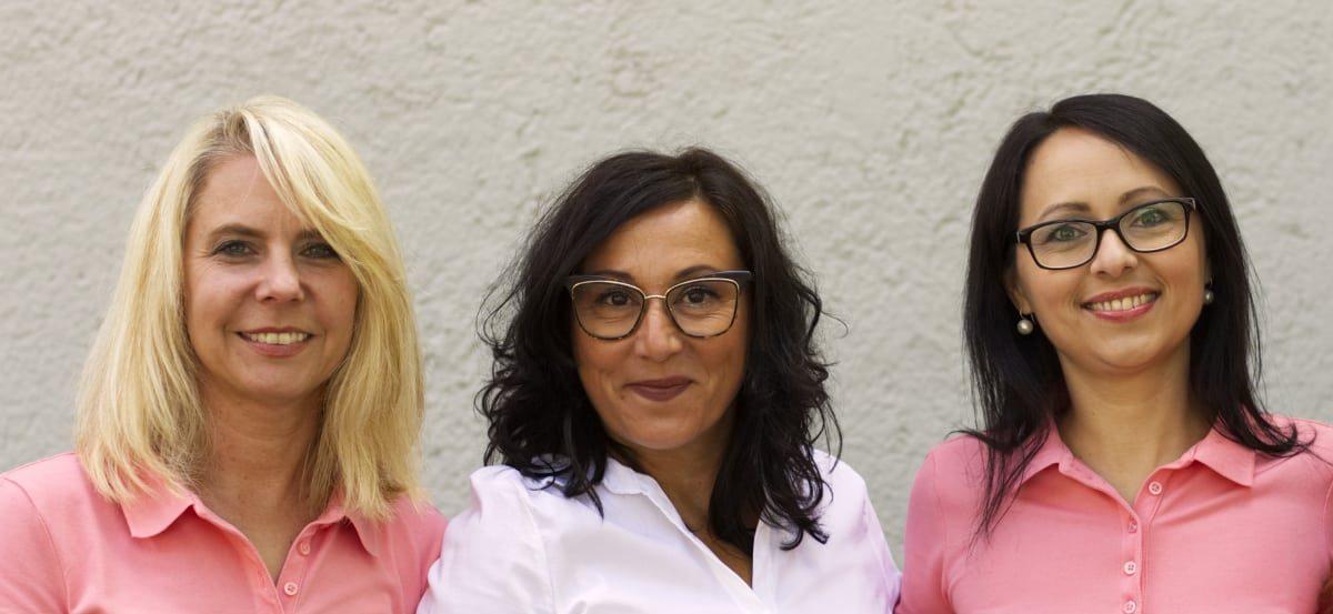 Mitarbeiter & Ärztin der Praxis Dr. Isabella Wilden - Herzlich willkommen wir sind gerne für Sie da - Prüfeninger Straße 21 93049 Regensburg Telefon: (0941) 41236 Fax: (0941) 447357 Email: info@aerztin-regensburg.de